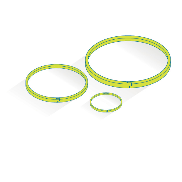VICTREX PEEK seal rings