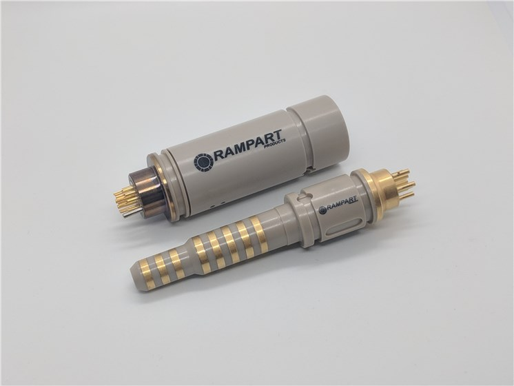 VICTREX™ PEEK polymers specified by Rampart for  new HPHT rotatable electrical connector for oilfield drilling equipment  © Rampart