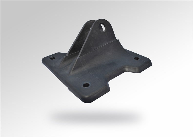 Jointly developed hybrid  overmoulded cabin bracket © Victrex